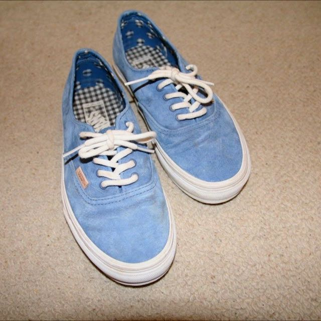Vans Authentic Suede Blue