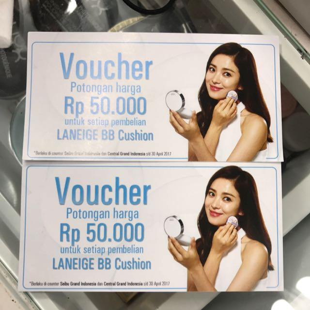 Voucher Laneige 100 rb