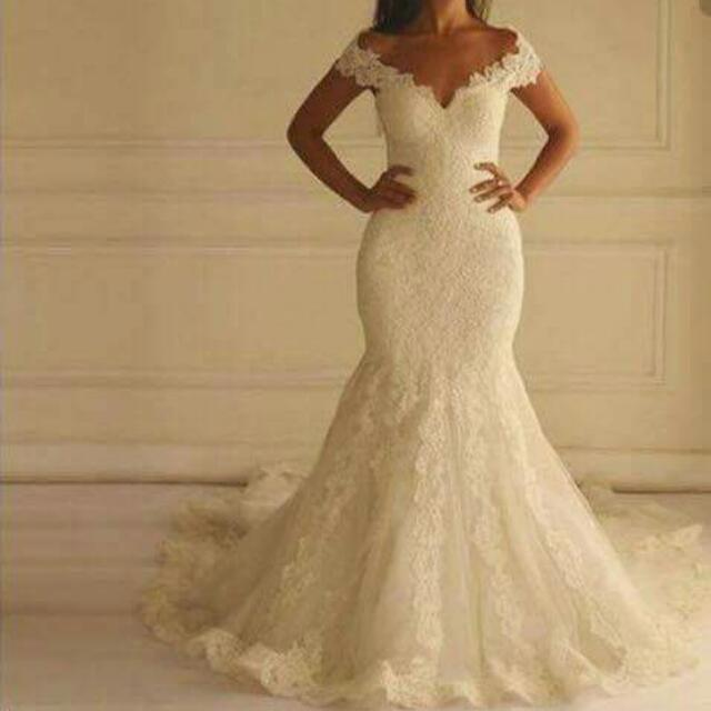 Wedding gowns, Grooms wear and entourage gowns for rent, Preloved ...