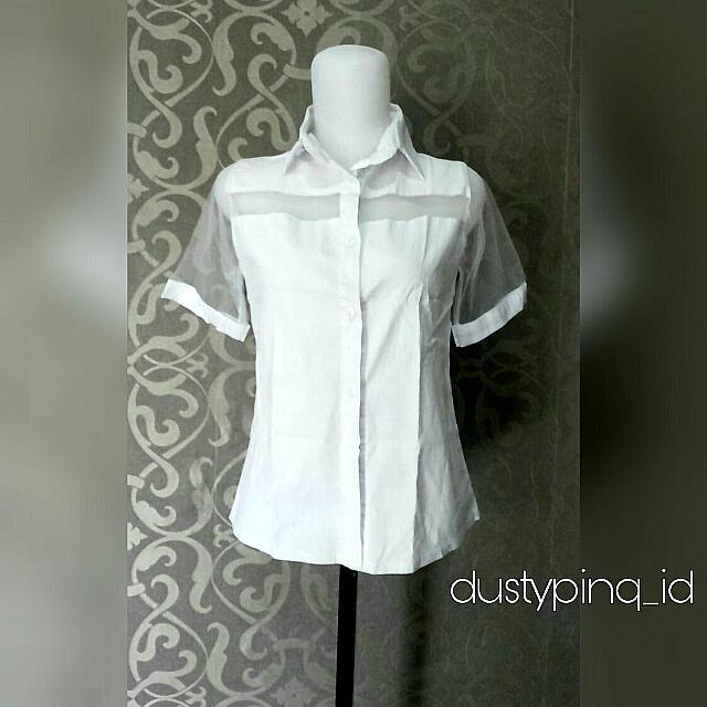 White Tile Dress