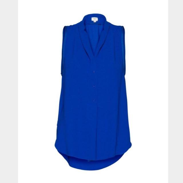 Wilfred FREJA Sleeveless Blouse in Blue