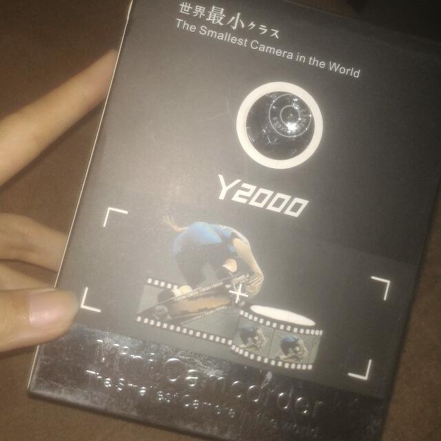 Y2000 Mini Camcorder Mini Camera