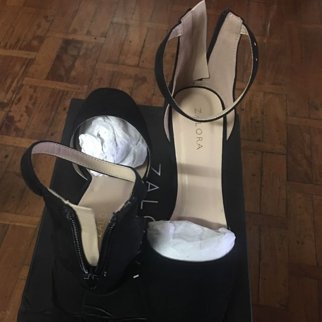 Zalora platform Heel Sandals