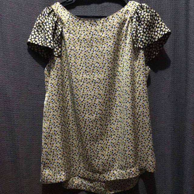 Zara Basic Silk Top