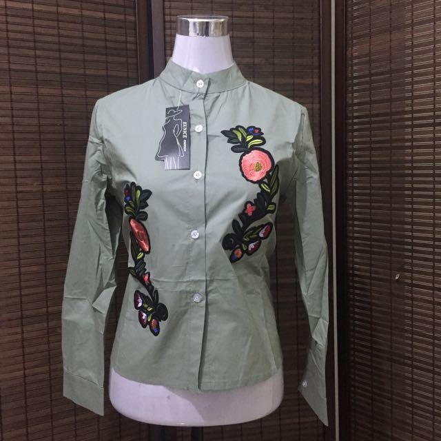 zara-like embroidered top