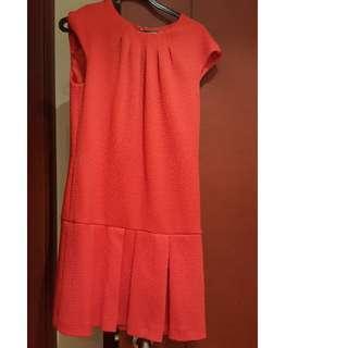 Nine West red dress