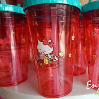 Bangkok Hello Kitty Cafe Plastic Cup