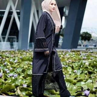 Selling Away : Black EMBROIDERY Kimono size XXL (inclusive smartpac $4)