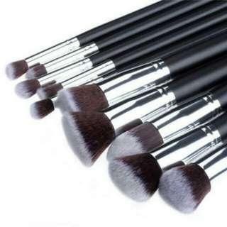 Instock Sigma Inspired Kabuki Makeup Brushes 10pcs Set  Brush Make Up