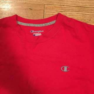Champion Red t-shirt - Large