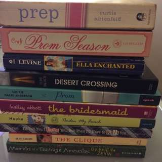 Teen Fiction / Young Adult Fiction Books