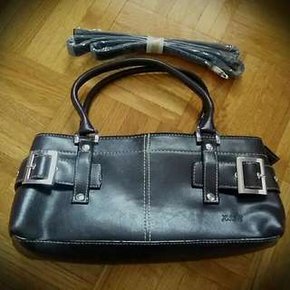Chocolate Leather Handbag