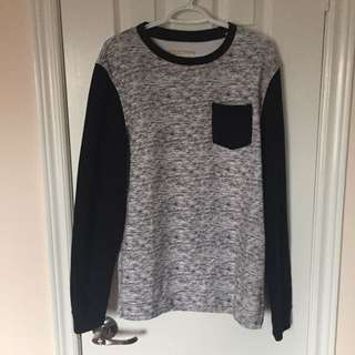 Hollister Long Fitted Crewneck