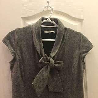 DKNY Grey Speckled Dress
