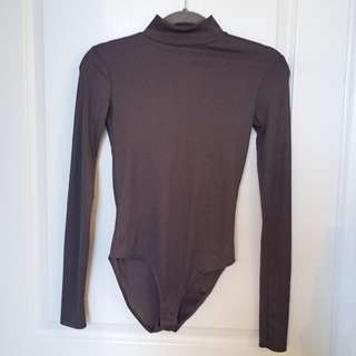 ZARA Turtleneck Bodysuit