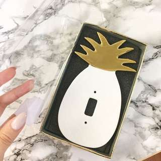 Pineapple Light Switch Cover