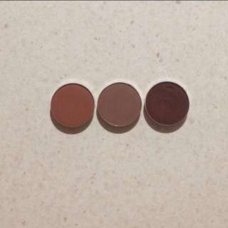 3 Makeup Geek Eye shadows