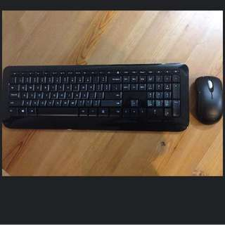 Windows wireless 800, Keyboard and mouse Set