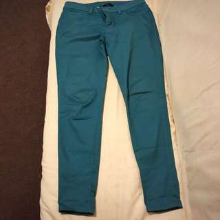 Green pants, size 10