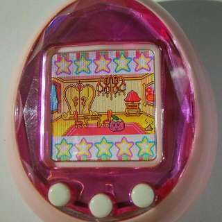 Pre-owned Bandai Tamagochi ID Pink Color