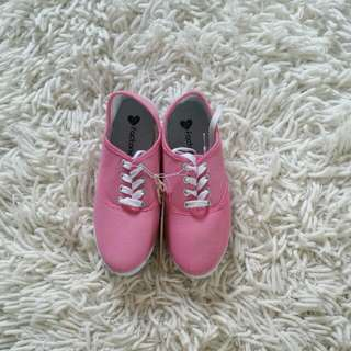 Pink Canvas Shoes #under20