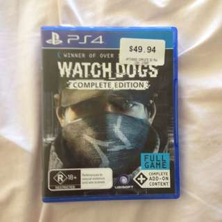 PS4 - Watchdogs