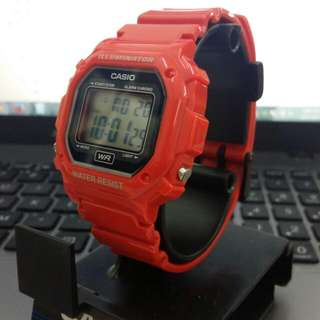 Brand New Red Casio Watch With Box