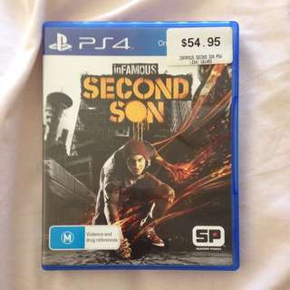 PS4 - Second son