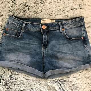 Cotton On Denim Shorts - Size 12
