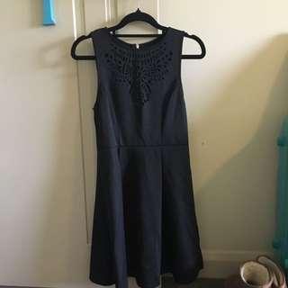 Black Dotti Dress