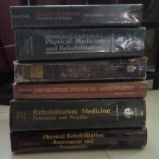 2nd Hand Physical Therapy Books