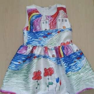 塗鴉裙(約合4,5歲)