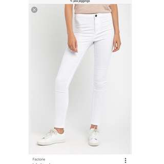Factorie BNWT White Jala Jegging