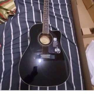 Epiphone Acoustic Guitar Model: Aj-220SCE/EB