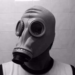 Authentic Soviet Russian Civilian Rubber Gas Mask