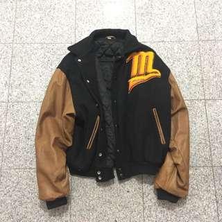 Vintage 80's Mizuno Varsity Jacket
