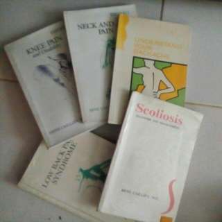 Physical Therapy Books All For P1000