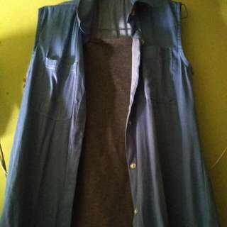 Denim Oblong, Include Inner Grey