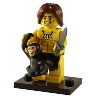 lego minifigures series 7 jungle boy