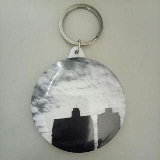 鏡子鑰匙圈