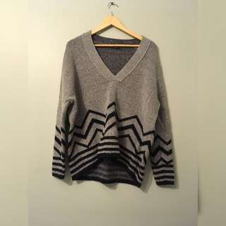 zara cozy sweater