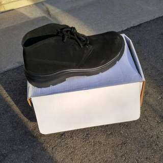 BNIB Men's Black Suede Shoes