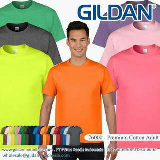 T Shirt Premium Cotton GILDAN
