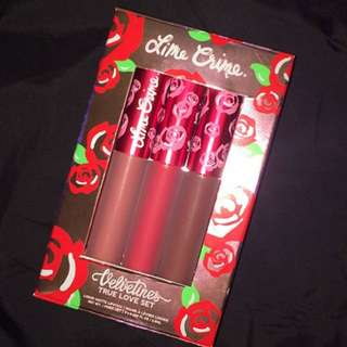 Lime Crime True Love Set
