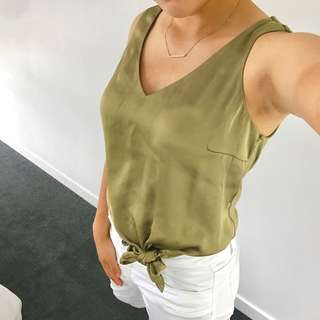 Forever New Green Cami
