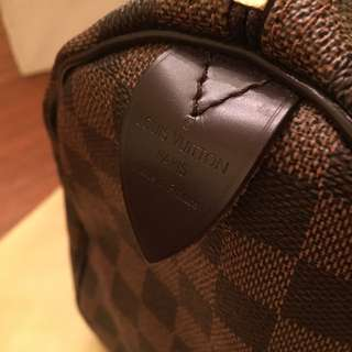 Louis Vuitton Speedy 35 (Authentic)