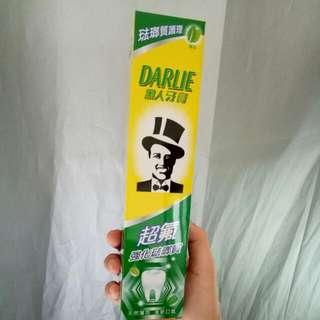 黑人牙膏 2入