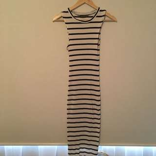 Body Con Striped Dress