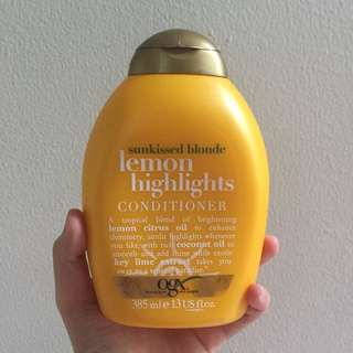 ✨Organix Sunkissed Blonde Lemon Highlights Conditioner✨
