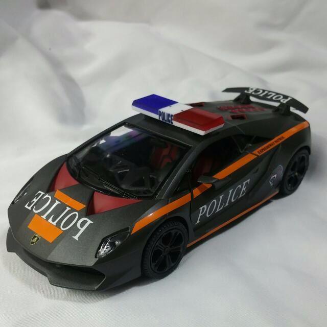 1 24 Diecast Lamborghini Sesto Elemento In Old Tp Livery Toys